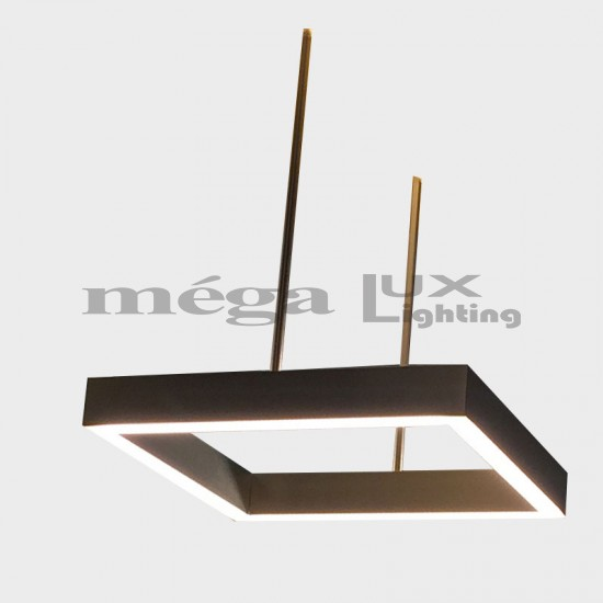 ML Slotlight Kare Pendant 50x70 cm LED
